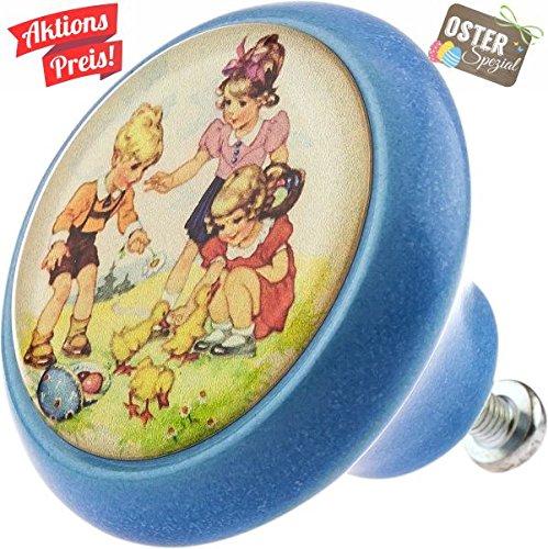 Meubles Bouton 05745b Pâques Lapin Céramique Vintage Antique porcelaine  style shabby chic rétro Meubles Boutons décoratif 6e8092a5d77f