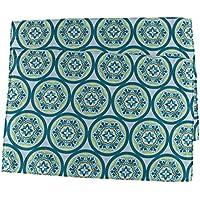 Lovein Primavera tavolo tovagliette Poliestere 30,5x 45,7cm, Poliestere, Blue Flower, 12x18inches