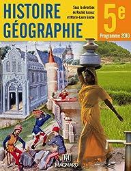 Histoire Géographie 5e : Manuel élève
