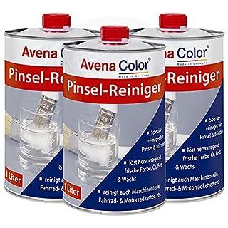 3 x Avena Color Pinselreiniger 1 Liter