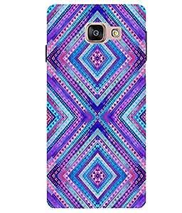 Citydreamz Traditional Pattern\Rangoli Design Hard Polycarbonate Designer Back Case Cover For Samsung Galaxy A5 2016 Edition