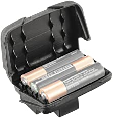 Petzl Erwachsene Batteriefach, Reactik +, schwarz, Standard