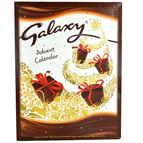 Galaxy Milk Chocolate Advent Calendar 110g