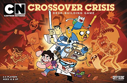 Cartoon Network Deck Building Game Crossover Crisis - Englisch - English