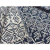 GXLO Tenture Murale en Tissu de Lin en Coton pour Feuille de Plage de Pique-Nique, Linge de Table, tenture décorative,C,Permeter