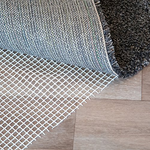 Levivo - Base antideslizante para alfombra (varios tamaños, 120 x 180 cm), blanco