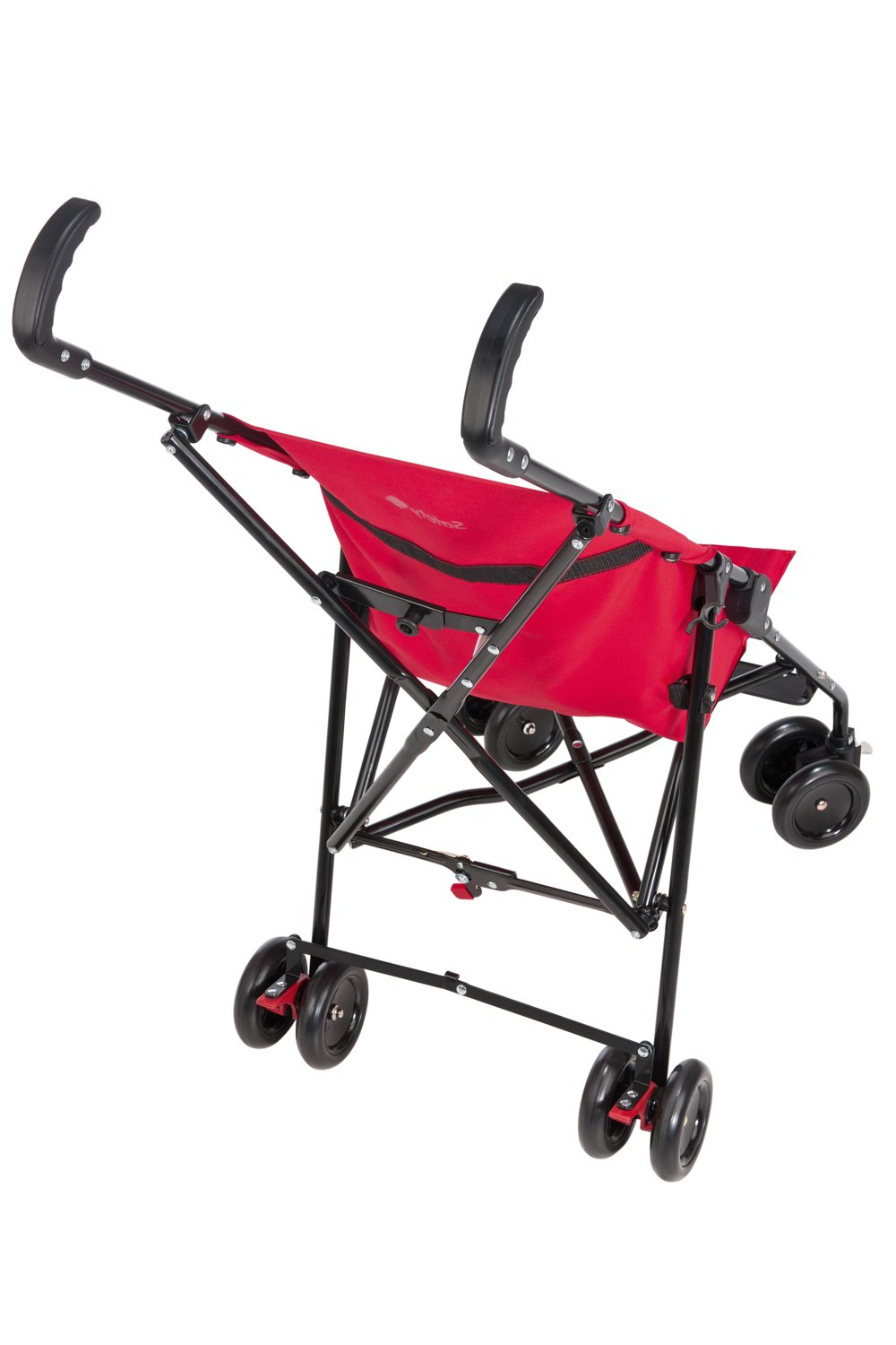 Safety 1st Peps Lightweight Buggy, Plain Red  Lightweight, only weighing 4.5kg so it's easy to carry Suspension on front wheels for a smooth ride Highly manoeuvrable with the swivelling front wheels 3