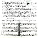 Servietten Adagio White - Schönes Geschenk für Musiker