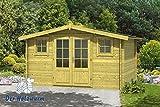 28 mm Gartenhaus Juha ca. 400x300 cm