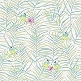 Rasch paperhangings 208801Tapete Wandverkleidung,–grün (12)