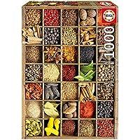 Puzzles Educa - Especias, puzzle de 1000 piezas (15524)