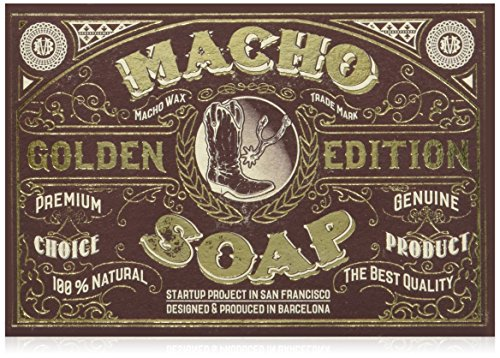 Macho Beard Company The Macho Soap Jabón para Barba - 150 gr