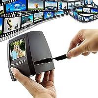 Slide Scanner Photo Negative Scanner Film Scanner Converter 2.36 Inch TFT LCD 5MP 10MP USB 2.0 5MP 35mm Negative Film and Slide Scanner TFT LCD Display Support SD Card