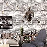 ZHAORLL Tapete 3D Nachahmung Ziegel Muster, Ziegel Kultur Stein Wandaufkleber Foto PVC Tapete Wohnzimmer Schlafzimmer Restaurant Tapete 0,53m * 10m,B