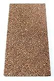 Korkplatte Dämmkork Parkettunterlage Trittschalldämmung 100 x 50 cm Stärke 20 mm/Gebäudedämmung/Fußboden/Unterlage/Trockenestrich/Spanplatte