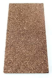 Cork Sheet Insulation Cork Flooring Impact Sound Insulation, 100 x 50 cm Thickness 20 mm Insulation, Floor/Dry Pad Nest Rich/Chipboard