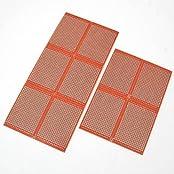 Neu 10 St. DIY Prototype PCB Lötplatine 5x7cm Lochraster Matrix Leiterplatte