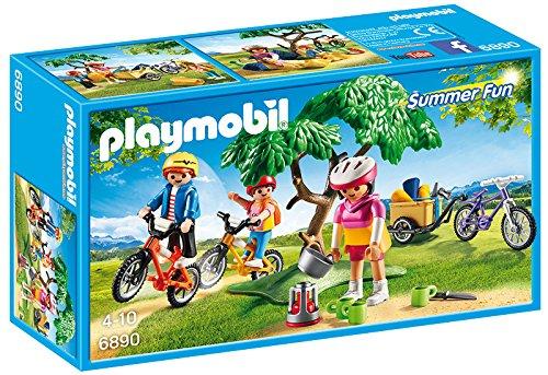 Playmobil Summer Fun Biking Trip - sets de juguetes (Acción / Aventura, Niño/niña, Multicolor, De plástico)