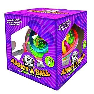 Addict-A-Ball 501080 Kugellabyrinth Spiel, 20 cm/L