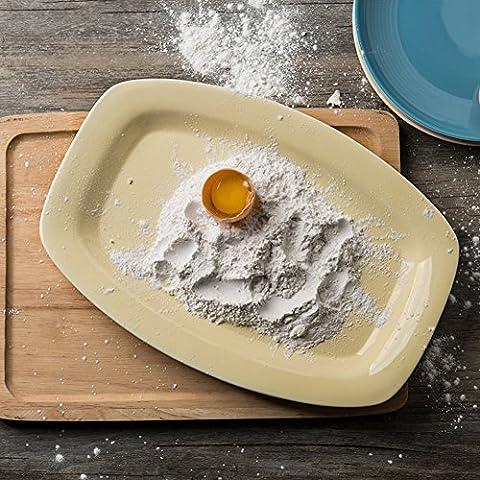 Kreative,keramikplatten/fisch/ein großer teller/dish dish/platte/fisch-A