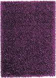SCHÖNER WOHNEN-Kollektion Feeling, hochwertiger Teppich, fusselfrei und antistatisch, 140 x 200 cm, violett
