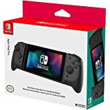 Hori Split Pad Pro, Controller Ergonomico Per la Modalità Portatile - Transparent Black - Ufficiale Nintendo - Nintendo Switc