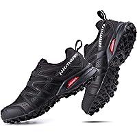 Trail Running Shoes Mens Women Waterproof Walking Shoes Low Rise Trekking Hiking Boots Anti-Slip Climbing Multisport…