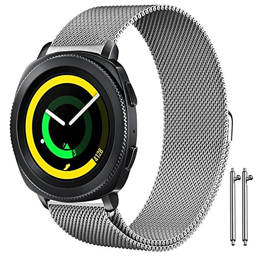 AFUNTA Magnetic Wristband for Samsung Gear Sport Watch, 6.7