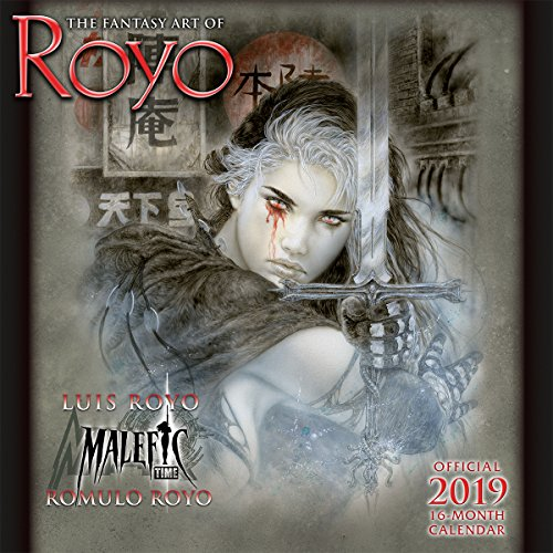 The Fantasy Art of Royo 2019 Calendar