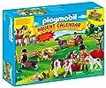Temática Navidad: Calendario granja de ponis (4167) de Playmobil