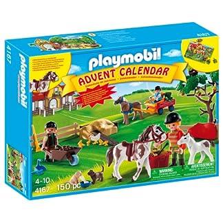 PLAYMOBIL – Calendario de Navidad Granja de Ponis (4167)
