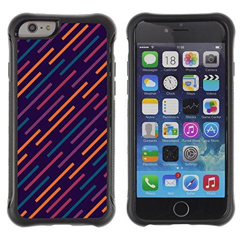 Graphic4You CIRCLE TRIANGLE Muster Shockproof Anti-Rutsch Weichen Hülle Case Tasche Schutzhülle für Apple iPhone 6 / 6S Design #7