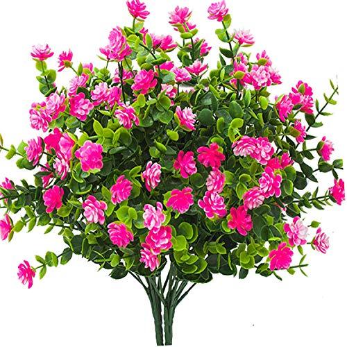 HZAMING 4 PCS Faux Fleurs Artifi...
