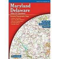 Maryland Delaware Atlas & Gazetteer