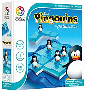 Smart Games Les Pingouins patineurs Child Niño/niña - Juegos educativos (Multicolor, Child, Niño/niña, 6 año(s), 99 año(s), 80 Pieza(s))