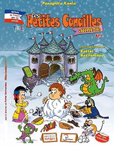 """Couverture du livre """"Les Petites Canailles"""" Junior A1.1 French Kids Comic Book"""