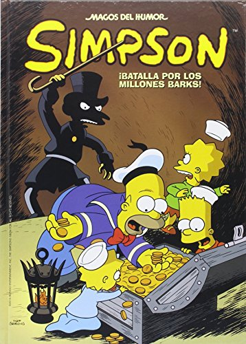 ¡Batalla por los millones Barks! (Magos del Humor Simpson 50) (Bruguera Contemporánea) por Matt Groening