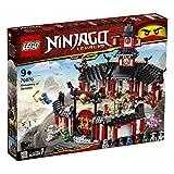 LEGO Ninjago - Monasterio del Spinjitzu, juguete creativo e...