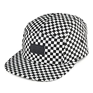 Vans 5 Panel Hat 2018 Buy Vans Davis 5 Panel Checkerboard Hats Inky ... 8aa6dbca6946