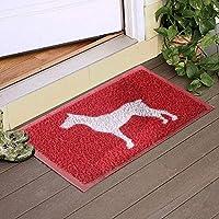 Köpek Desenli Kapı Önü Paspası
