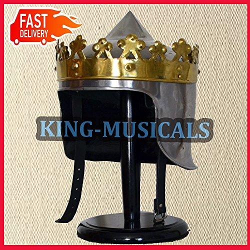 Nasir Ali King Arthur Helm Mittelalterliche Reenactment Helme 18 ()