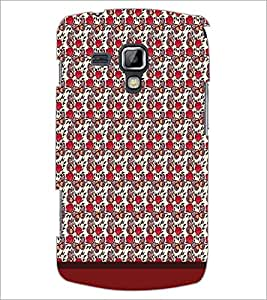Printdhaba Butterfly Pattern D-1606 Back Case Cover For Samsung Galaxy S Duos 2 S7582