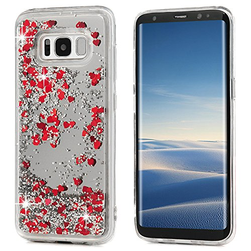 Tophung Carcasa Samsung Galaxy S8 Purpurina, diseño