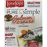Lovejoys Pure and Simple Grain Free Salmon and White...