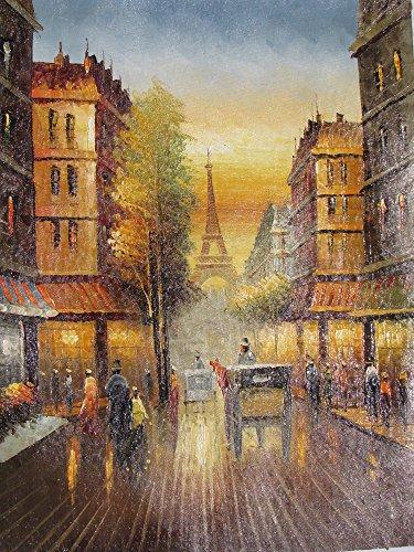 paris-in-farbe-grosse-kunst-ol-auf-leinwand-gemalde-hervorragende-qualitat-und-handwerkskunst-handge