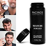 Pacinos Texture Powder for Hair Styling - Lightweight & Seamless Root Lifting Powder - Matte Finish & Dry Look - Adds Extra T