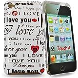 Accessory Master E53 Coque pour Apple iPod Touch 4 'I Love You '