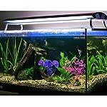 Mudder Artificial Aquarium Plastic Plants, 8 Pieces 12