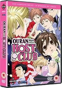 Ouran High School Host Club - Complete Series [DVD] [Edizione: Regno Unito]