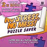 Salva-puzzle autoadesivo a dodici strati: conserva e appendi il tuo puzzle capolavoro senza problemi - incornicia facilmente molti pannelli con un adesivo forte e duraturo.